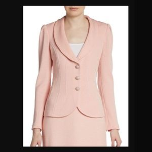 St John Collection Santana Shawl Collar Blazer